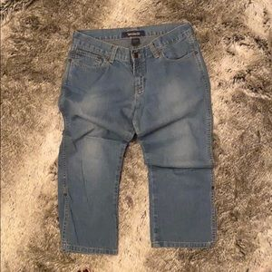Abercrombie & Fitch Blue Jeans, Size 2.